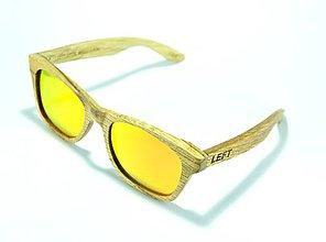 Iné doplnky - Drevené slnečné okuliare Klarity červené - 7062140_