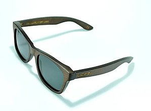 Iné doplnky - Drevené slnečné okuliare Marone šedé - 7062477_