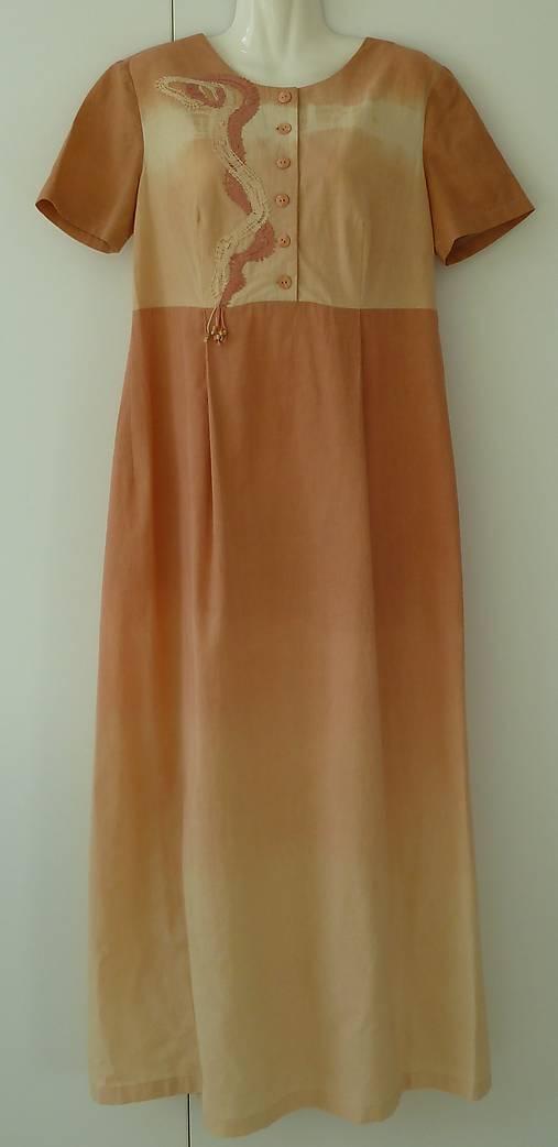 801d7368a80 batikované šaty pre tehotné -Táňa   airamti - SAShE.sk - Handmade Šaty