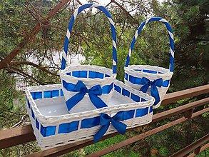 Košíky - modrá je dobrááá...-). - 7061974_