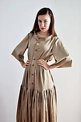 - Medené košelo-šaty - 7062088_