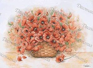 Papier - Ryžový papier č.5215 - 50x35 cm, ihneď - 7061116_
