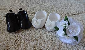 Bábiky - Svadobný párik - 7063454_