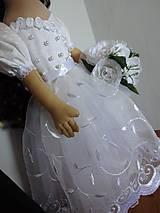 Bábiky - Svadobný párik - 7063460_