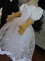 Bábiky - Svadobný párik - 7063464_