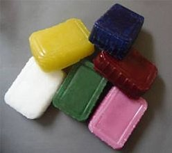 Suroviny - Parafín farebný - bordová - 7065169_