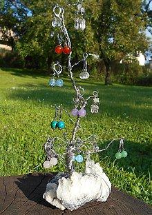 Dekorácie - cristall -Sk- TREE-na ukážku-na objednávku - 7066149_