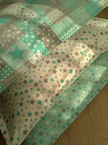 Úžitkový textil - Vankúšiky *mint* - 7063567_