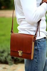 Iné tašky - Pánska taška MESSENGER BROWN - 7065321_