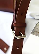 Iné tašky - Pánska taška MESSENGER BROWN - 7065339_