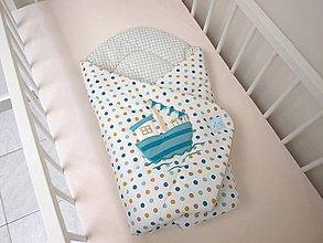 Textil - Chlapčenská zavinovačka Fisherman - 7066834_