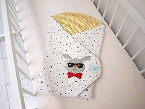 Textil - Zavinovačka pre malého hipstera - 7066974_