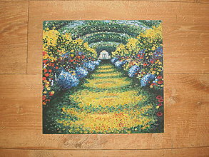 Obrazy - Kvetinková záhrada - 7066338_