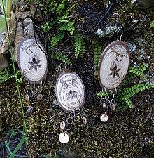 Sady šperkov - Živena - drevený šperk - sada - 7063787_