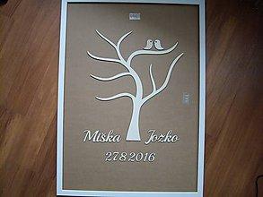 Polotovary - Svadobný strom - konáre / kniha hostí - 7066672_