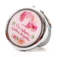 Zrkadielka - Zrkadielko pre najlepšiu družičku - 7065160_