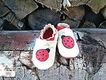 Topánočky - Capacky s lienkou  - 7063961_