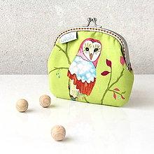 Peňaženky - Peňaženka so sovami - 7063408_