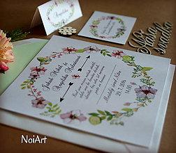Papiernictvo - Svadobné oznámenie 4 - 7068790_