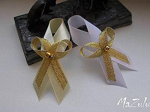 Pierka - svadobné pierko zlaté V. - 7067931_