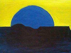 Obrazy - Západ Slnka... - 7068535_
