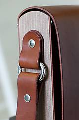 Iné tašky - Pánska taška MESSENGER BROWN - 7067712_