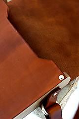 Iné tašky - Pánska taška MESSENGER BROWN - 7067714_