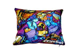 Úžitkový textil - Vankúš Crystal DIAMANT - 7068238_