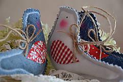 Dekorácie - Vtáčik - 7069953_