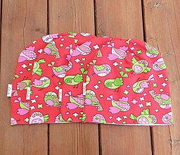 Detské čiapky - Detské čiapky - vtáčatá - 7070358_