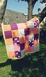 Textil - Patchworková dečka - 7068360_