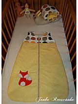 Textil - spací vak - lišiak  - 7070616_
