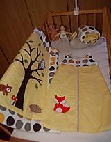 Textil - spací vak - lišiak  - 7070620_