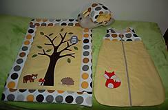 Textil - spací vak - lišiak  - 7070621_