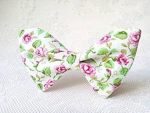 Náhrdelníky - Romantický vintage dámsky motýlik - 7072807_