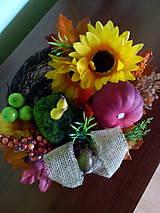 Dekorácie - Jesenná dekorácia - 7073870_