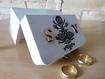 krabička na svadobné prstienky 2