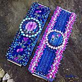 Náramky - Luxusný náramok RecyVersace pink - 7072040_