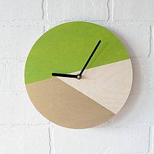 Hodiny - Nástenné hodiny Limetkové - 7072691_