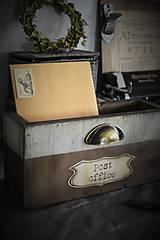 Nábytok - Debnička na vašu poštu - 7071940_