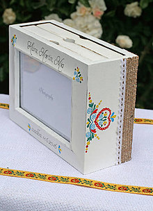 Rámiky - Svadobný drevený fotoalbum na želanie - 7074779_