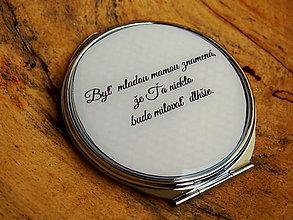 Zrkadielka - Zrkadielko kabelkové Do it yourself! - 7074625_