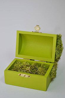 Prstene - Krabička - Tajomstvo ukryté v lese - 7078734_