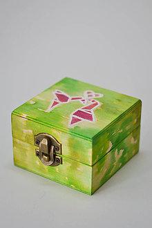 Krabičky - Krabička - Origami láska - 7079008_