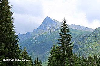 Fotografie - Autorská fotografia: Pohľad na Kriváň - 7077460_