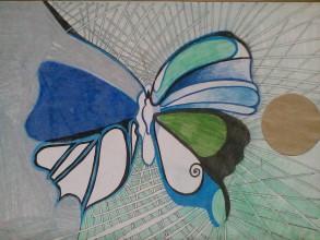 Kresby - Motýľ... - 7076797_