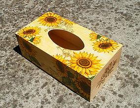 Krabičky - Krabička na servítky. - 7078313_