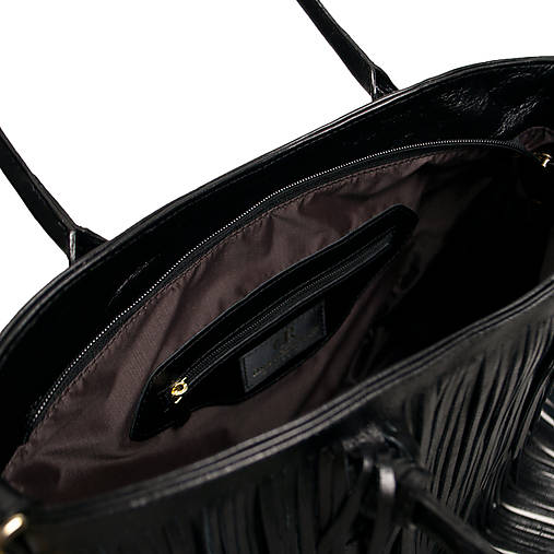 Kožená kabelka I ♥ New York