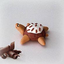 Hračky - Čokoládové želvičky na zákazku (stracciatella NA ZÁKAZKU) - 7076574_
