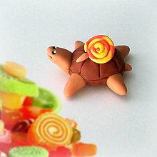 Hračky - Čokoládové želvičky na zákazku (lízatková NA ZÁKAZKU) - 7077057_